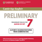 Cambridge English Preliminary 7 Audio CDs (2)