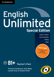 English Unlimited Intermediate Teacher's Pack Special Edition