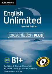 English Unlimited Intermediate Presentation Plus DVD-ROM Special Edition
