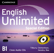 English Unlimited Pre-intermediate Class Audio CDs (3) Special Edition