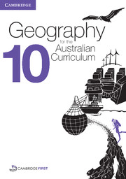 Geography for the Australian Curriculum Year 10 Bundle 1 Textbook and  Interactive Textbook