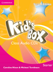 Kid's Box Starter Class Audio CDs 2