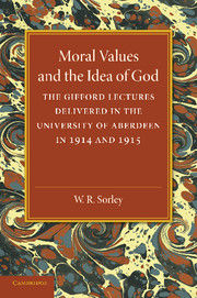 Moral Values and the Idea of God