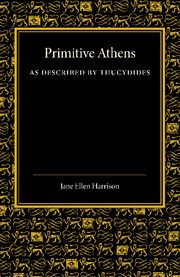 Primitive Athens as Described by Thucydides