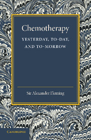 Chemotherapy: Yesterday, Today and Tomorrow