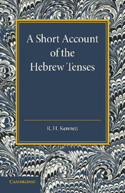 A Short Account of the Hebrew Tenses