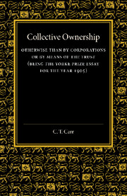 Collective Ownership