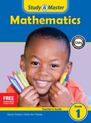 Study & Master Mathematics Teacher's Guide Grade 1