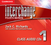 Interchange Level 1 Class Audio CDs (3)