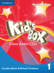 Kid's Box Level 1 Class Audio CDs (4)
