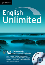 English Unlimited Elementary B