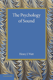 The Psychology of Sound