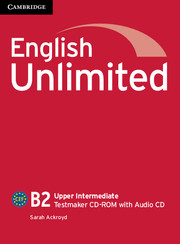 English Unlimited Upper Intermediate