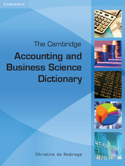 The Cambridge Accounting and Business Science Dictionary