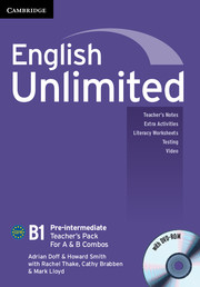 English Unlimited Pre-intermediate A and B