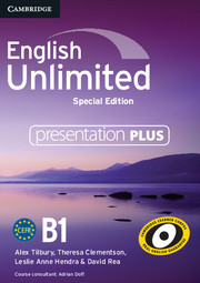 English Unlimited Pre-intermediate Presentation Plus DVD-ROM Special Edition