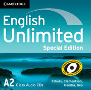 English Unlimited Elementary Class Audio CDs (3) Special Edition