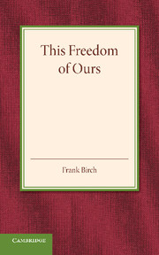 This Freedom of Ours