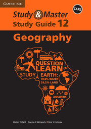 Study & Master Geography Study Guide Grade 12