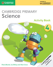 Cambridge Primary Science Activity Book 4