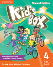 Kid's Box Level 4 Pupil's Book