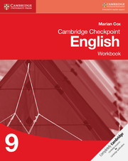 Cambridge Checkpoint English: Workbook 9