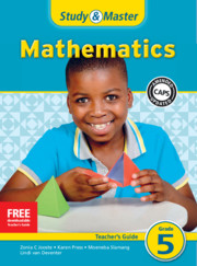 Study & Master Mathematics Teacher's Guide Grade 5