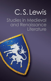 Studies in Medieval and Renaissance Literature
