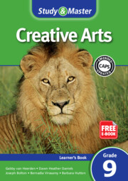 Study & Master Creative Arts Learner's Book Learner's Book