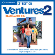 Ventures Level 2 Class Audio CDs (2)
