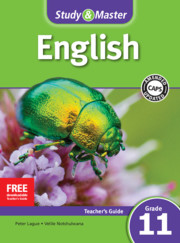 Study & Master English FAL Teacher's Guide Grade 11