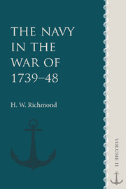 The Navy in the War of 1739–48