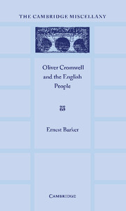 Oliver Cromwell and the English People