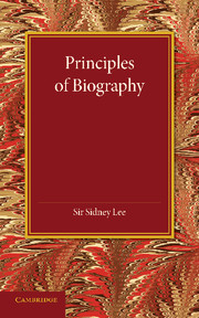 Principles of Biography