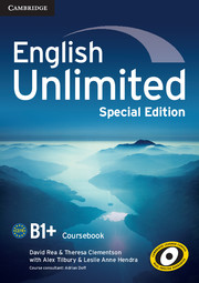 English Unlimited Intermediate Coursebook with e-Portfolio Special Edition