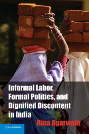 Informal Labor, Formal Politics, and Dignified Discontent in India