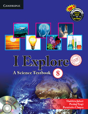 I Explore Level 8 Student Book with CD-ROM CCE Edition