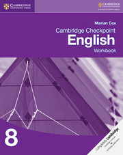 Cambridge Checkpoint English: Workbook 8