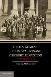 The U.S. Women's Jury Movements and Strategic Adaptation