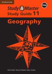 Study & Master Geography Study Guide Grade 11
