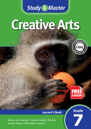Study & Master Creative Arts Learner's Book