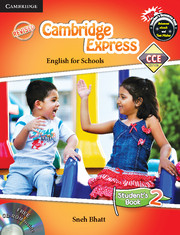 Cambridge Express 2 Student Book with CD-ROM CCE Edition (Primary)