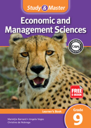 Study & Master Economic and Management Sciences Learner's Book Grade 9