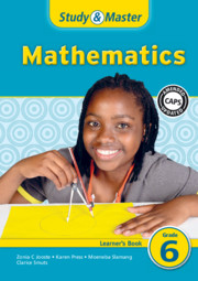 Study & Master Mathematics Learner's Book Grade 6
