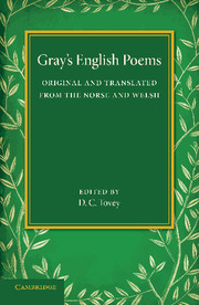 Gray's English Poems