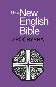 New English Bible, Apocrypha