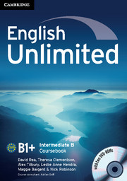 English Unlimited Intermediate B