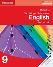 Cambridge Checkpoint English: Coursebook 9