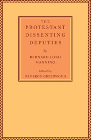 The Protestant Dissenting Deputies