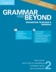Grammar and Beyond Level 2 Enhanced Teacher's Manual with CD-ROM